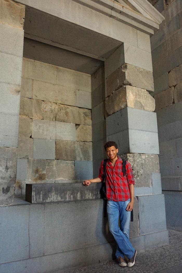 inside garni temple - dariusroby.com