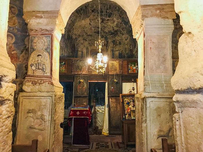 Densus Church - Painting of Jesus in Popular Costume @dariusroby.cm