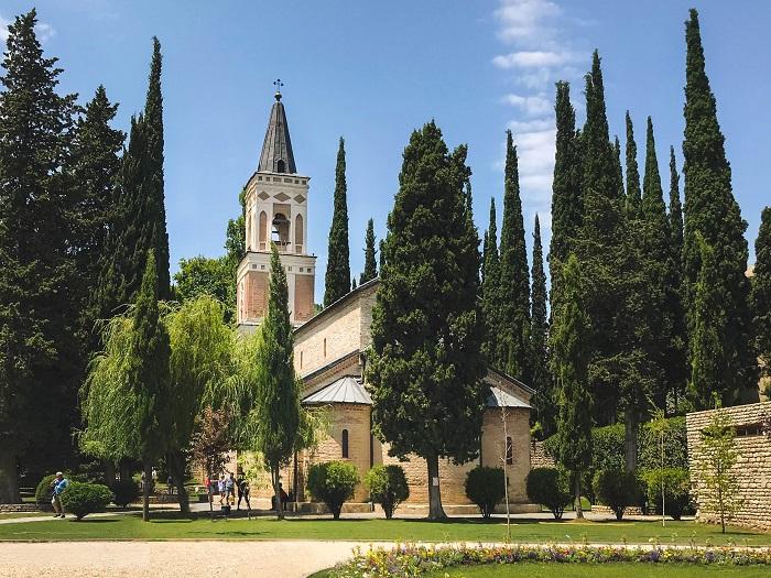 boadbe monastery in sighnaghi georgia