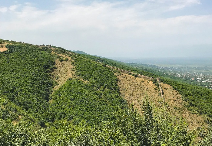 great wall of sighnaghi