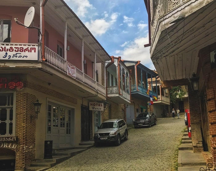 historic houses and the architecture of sighnaghi