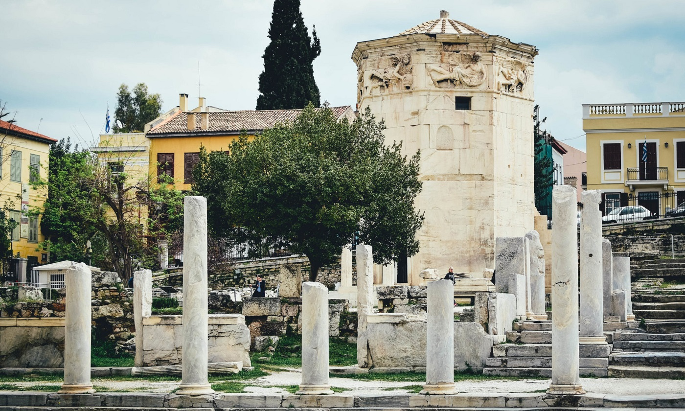 tower of the winds aerides athens