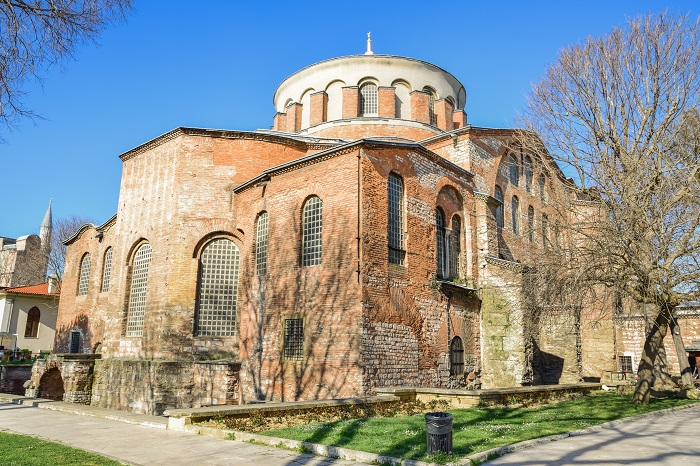 Hagia Eirene, a fascinating example of Byzantine architecture whose advantageous position next to the great Hagia Sophia has almost rendered it forgotten to history.