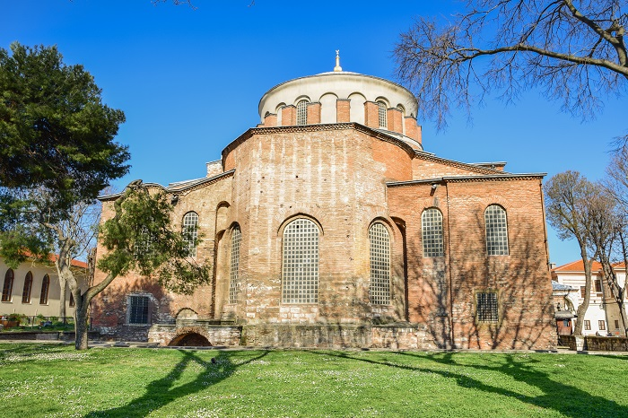 Hagia Eirene is one of the most prominent landmarks of Constantinople, visible from throughout the city, and has its own unique stories to tell.